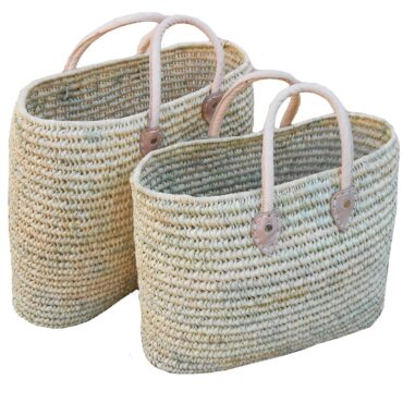 Shop Hippy double sized oval baskets