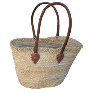 Natural French Baskets Embroidery
