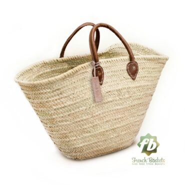 Natural French Basket Handle leather