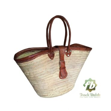natural baskets with clasp
