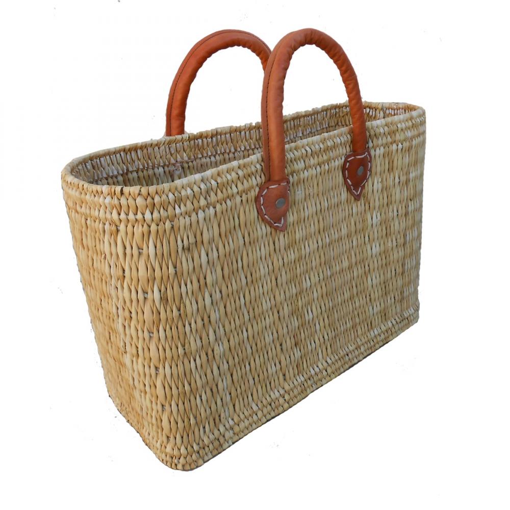 natural red baskets