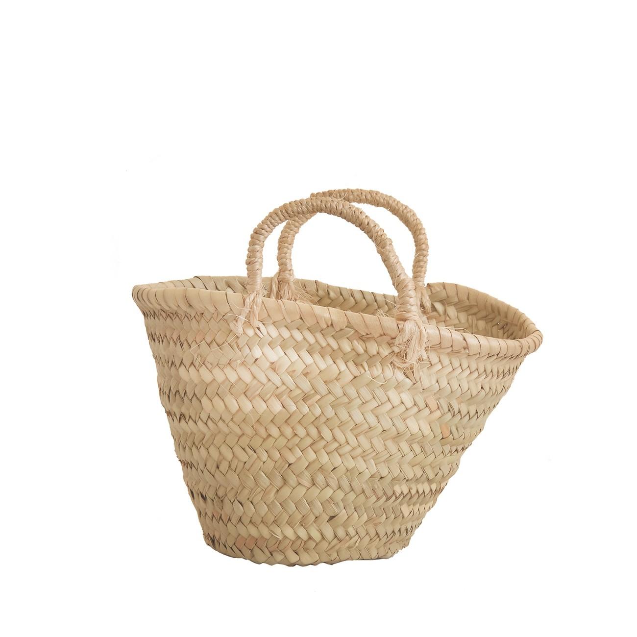baby basket Hansse mini straw rope