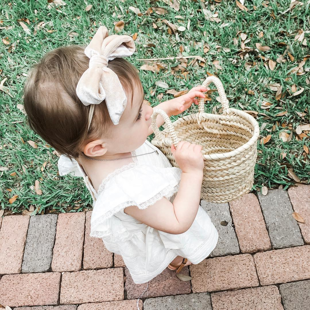 baby mini moroccan baskets