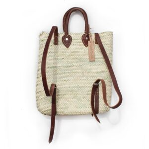straw baskets Backpack
