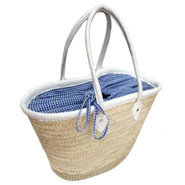 Picnic Basket Blue Gingham