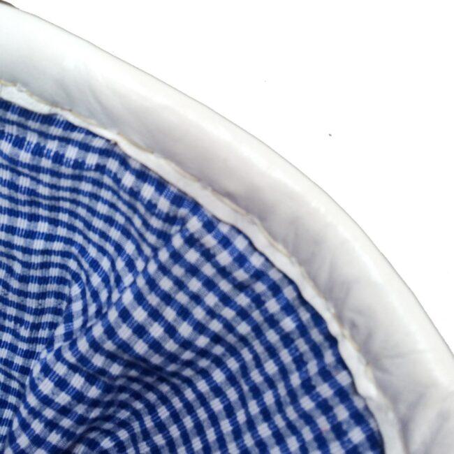 Picnic Basket Blue Gingham