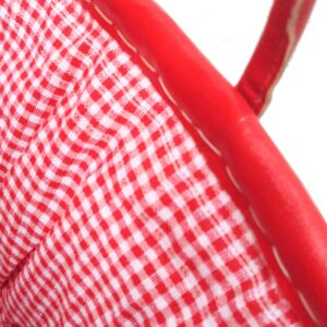Picnic basket red gingham