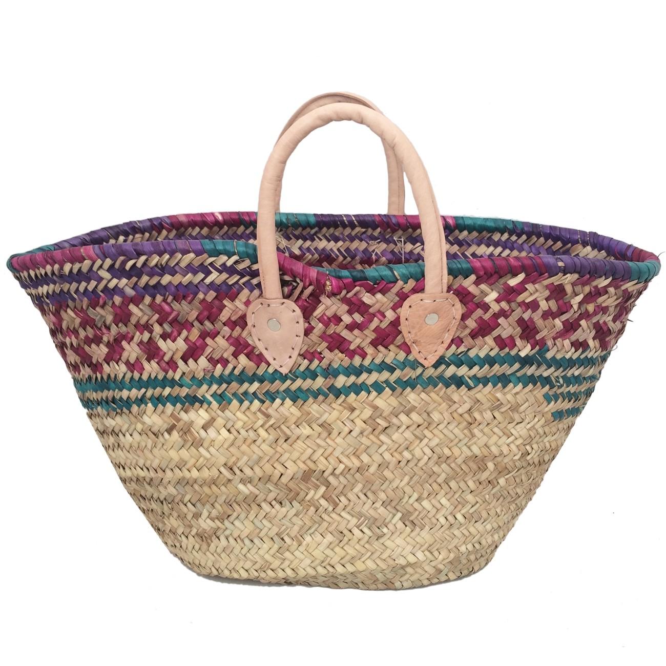 Natural Color Basket