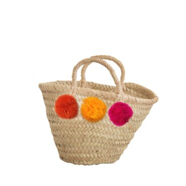 baby basket Hansse mini straw rope