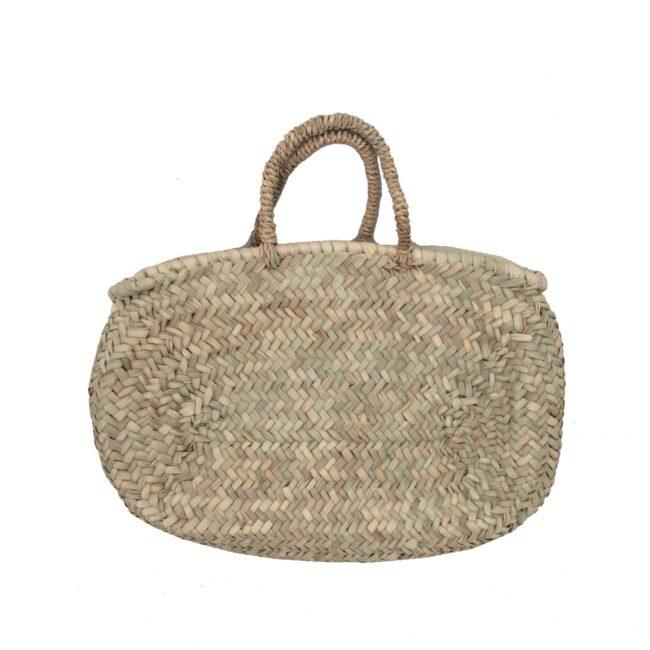 Natural Basket medium ovale rope