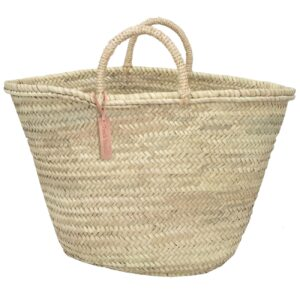 big tote baskets rope handle