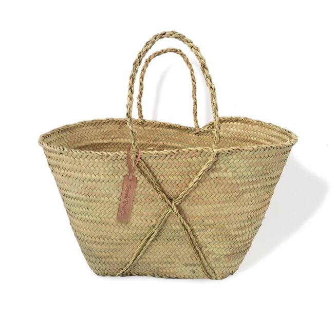 Small baskets the cross