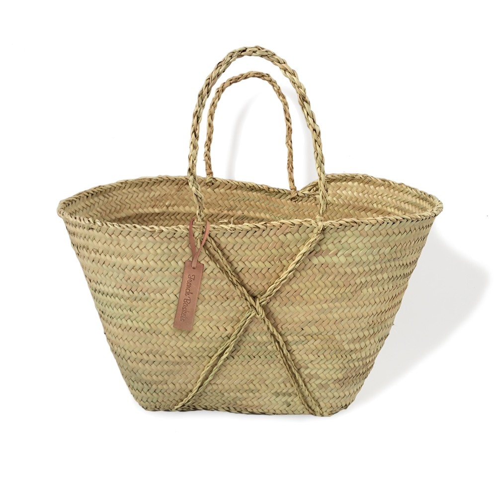 Small moroccan baskets the cross