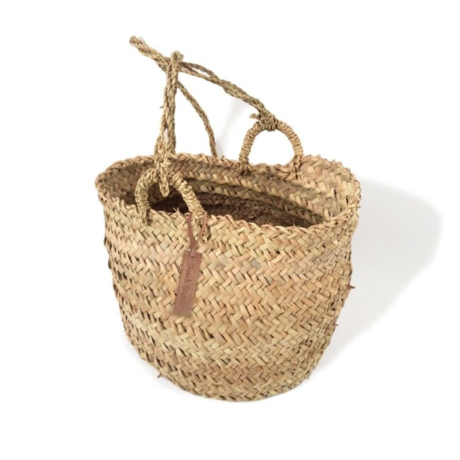 Hanging Woven French Basket