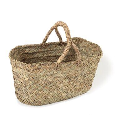 Market Woven Baskets Swing