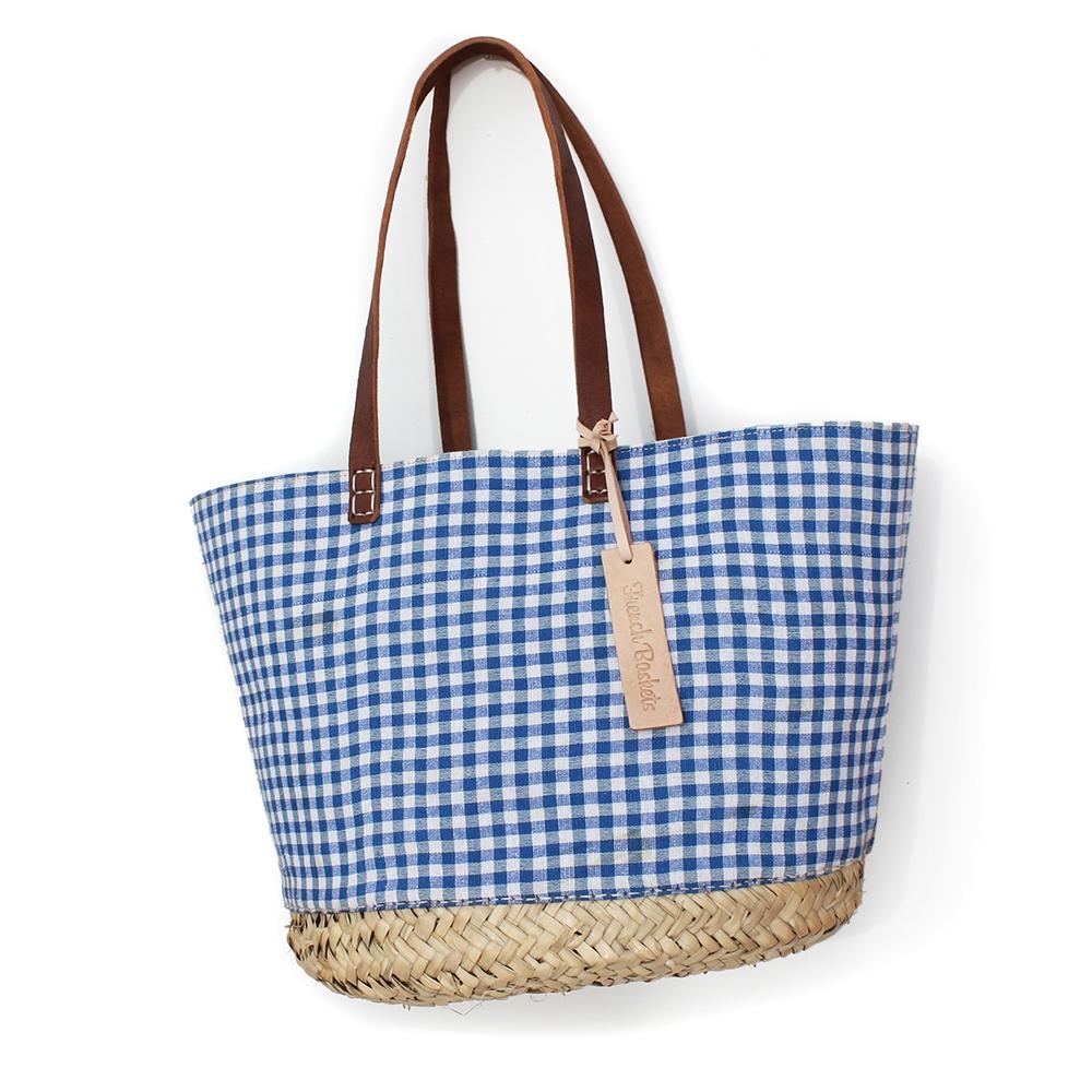 Straw tote Vichy Medium Bags