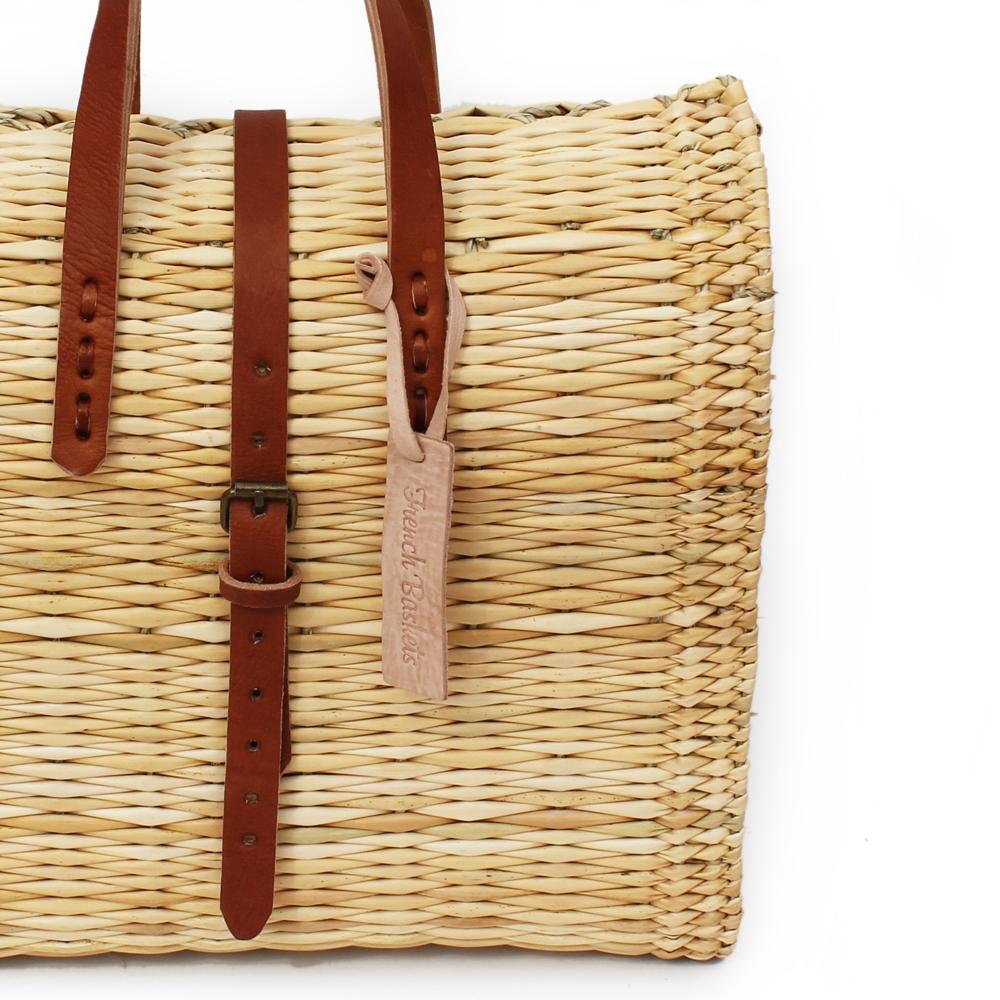 straw suitcase Medium