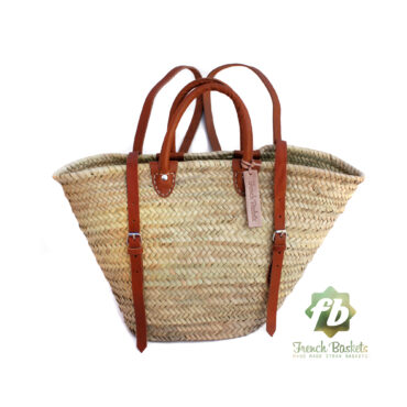 luxury Straw Backpack french baskets
