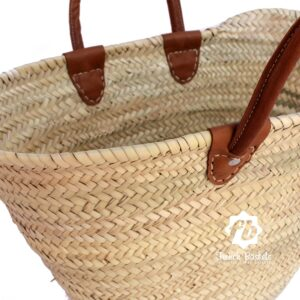 luxury straw bag French Basket french market basket