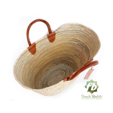 luxury straw French Baskets french market basket