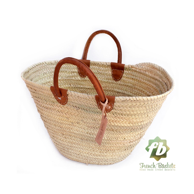 luxury straw bag French Basket french