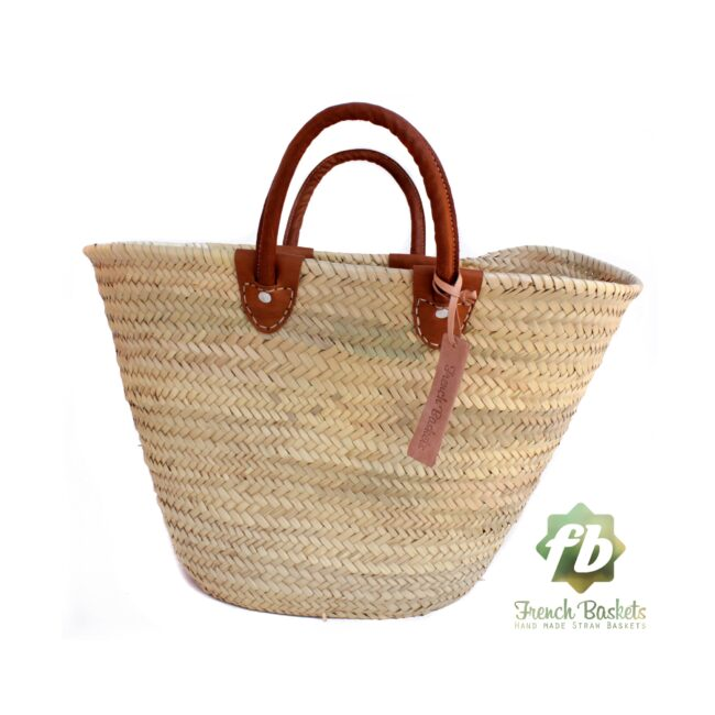 luxury straw bag French Basket french