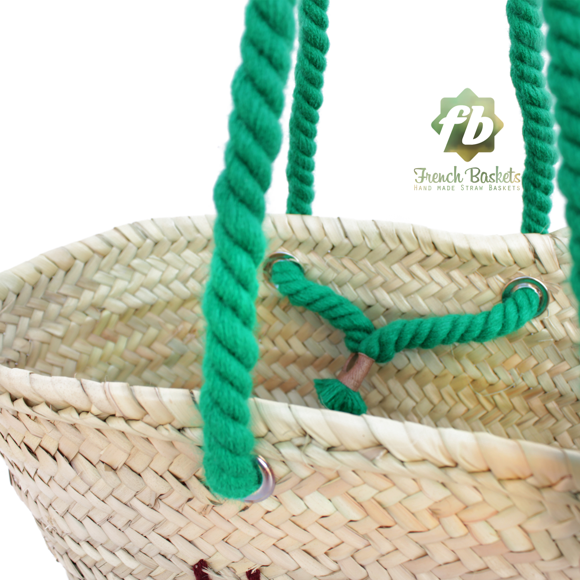 """""""Personalized straw bag hand embroidered thanksgiving gifts"""""""