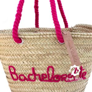 Customized straw bags Bachelorette