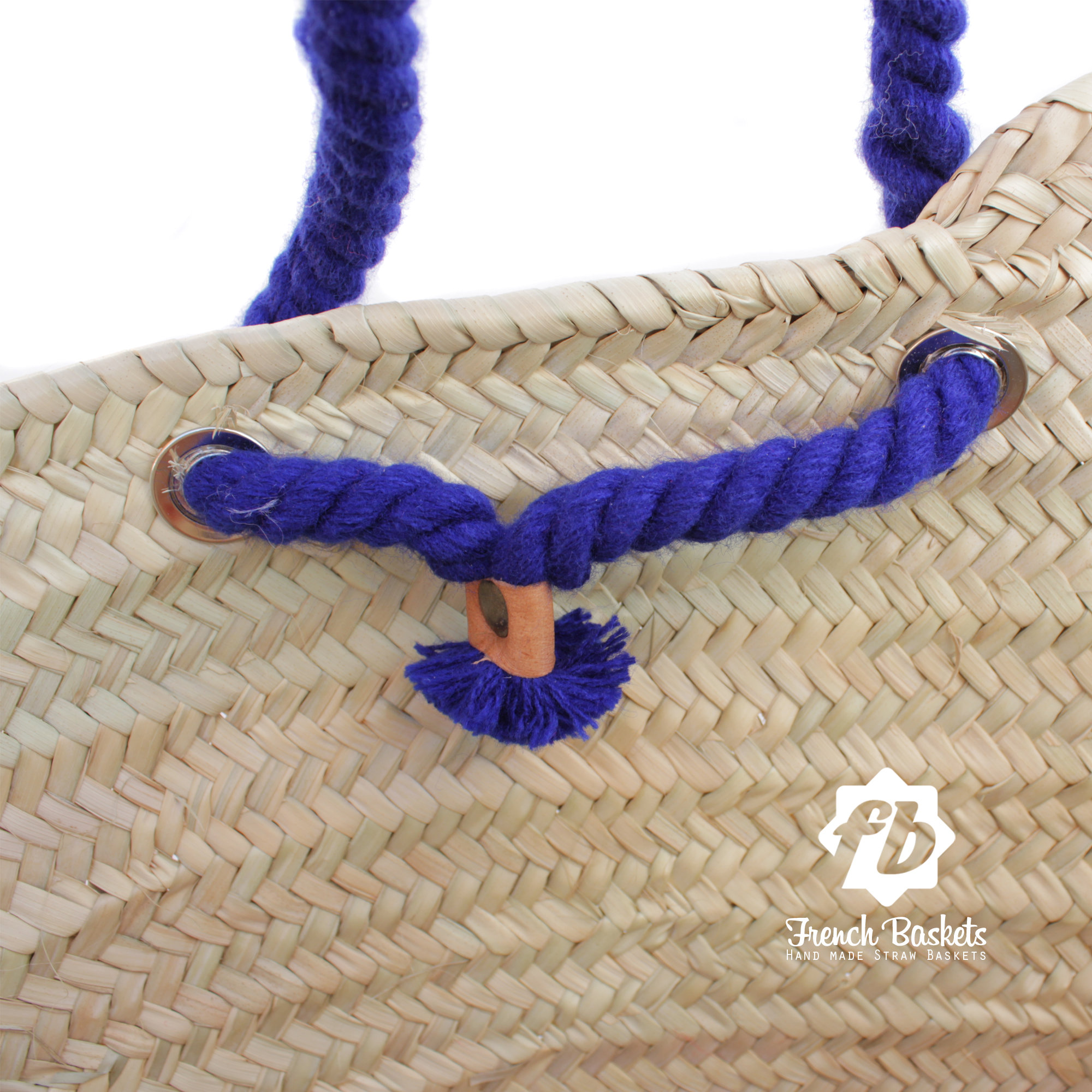 Customized straw bags New year gifts French baskets
