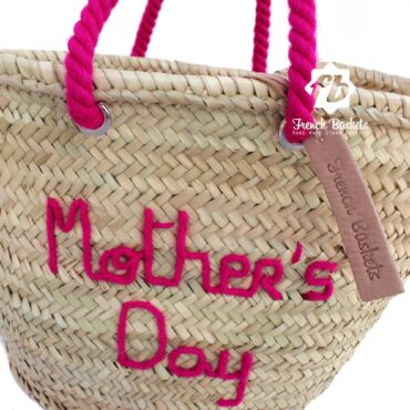 Customized Mother's Day gifts straw bag personalized