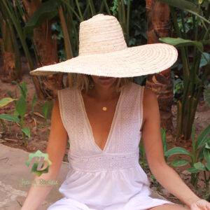 XL straw hats French Baskets